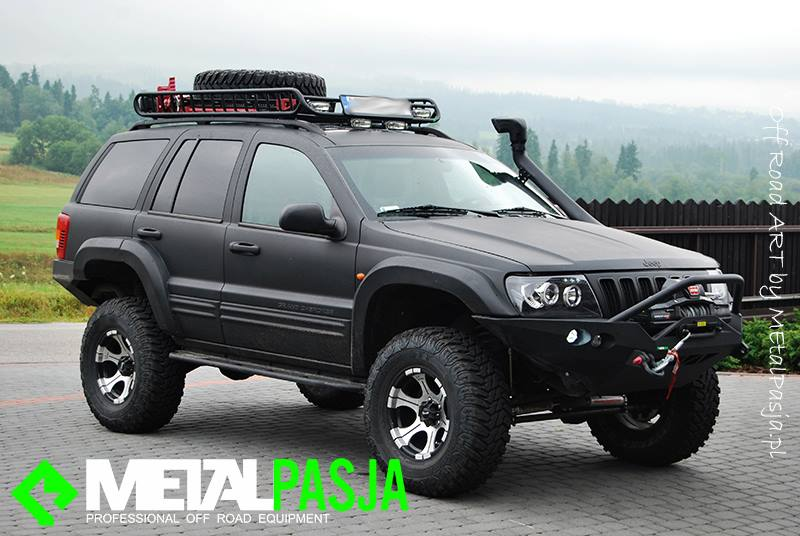 Front Recovery Winch Bumper Ironman Wj Jeepey Jeep