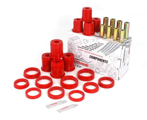 Suspension Control Arm Bushing Kit Front Red 84 01 Jeep