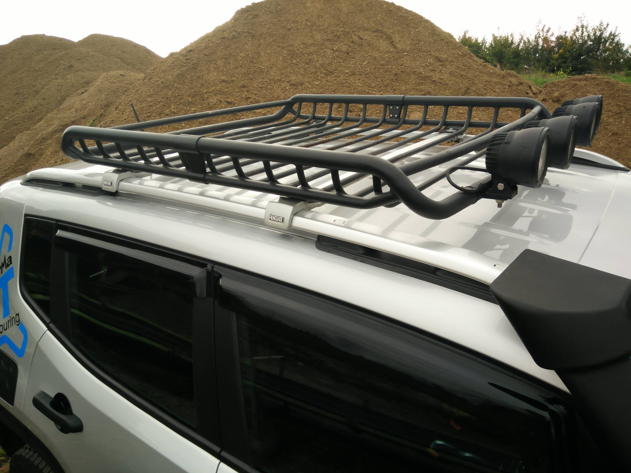 Roof Basket And Bar Kit Renegade Tf4225 Jeepey Jeep Old For Sale Jm 04445 Terrafirma