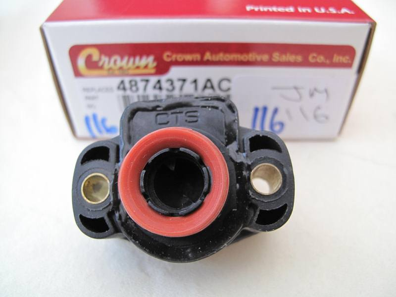 Ac on 1998 Jeep Cherokee Throttle Position Sensor