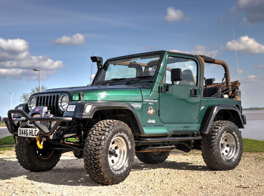 jeep wrangler 2000 sahara 0l sold accessories parts jeepey