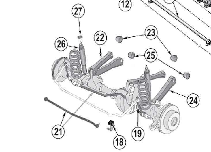 jeep patriot front suspension diagram