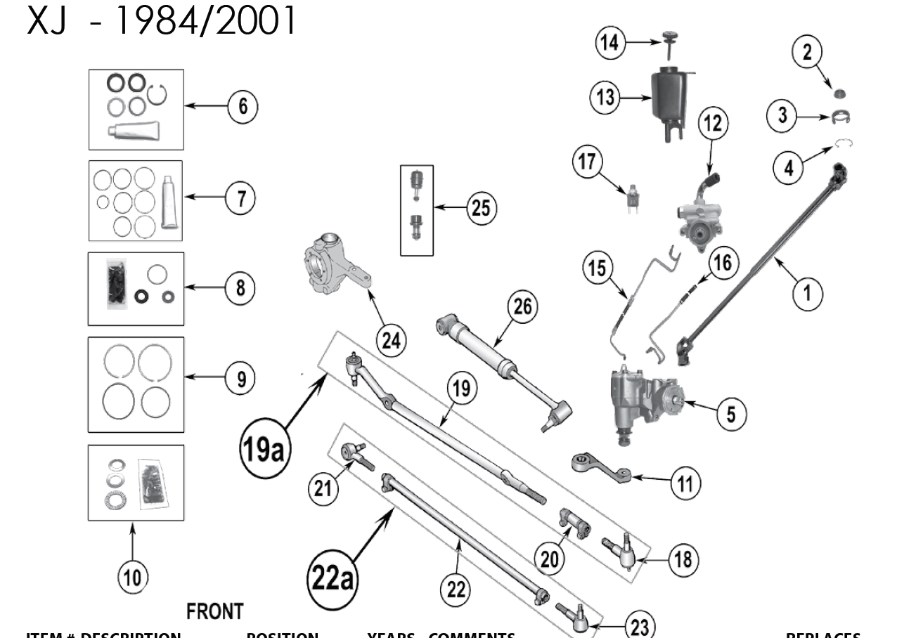 2000 Jeep Grand Cherokee Steering Colum Wiring Diagram Power Car Interior Design Knuckle